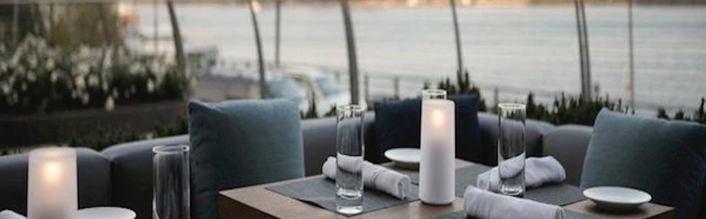 Waterfront Dining at Riverpark. Source: riverparknyc.com